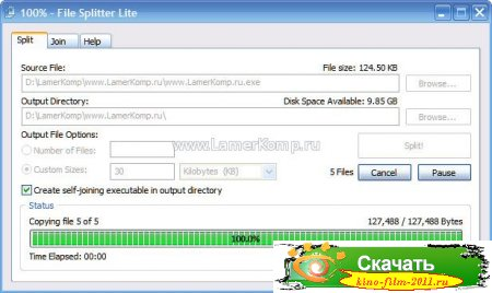 File Splitter Lite
