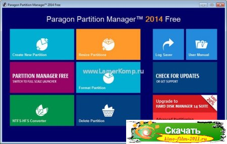 Paragon Partition Manager Free