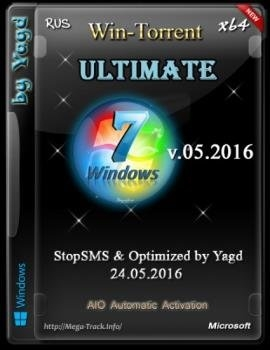 Windows 7 Ultimate Stop SMS Optimized by Yagd v.05.2016 (x64) - «Windows»