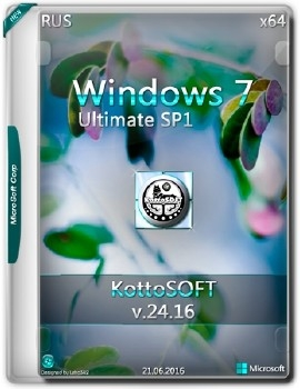 Windows 7x64 Ultimate KottoSOFT - «Windows»